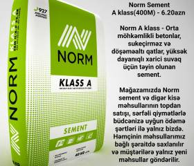 Norm Sement A klass(400M)
