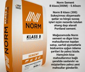 Norm Sement B klass(300M)
