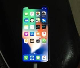 Iphone X remg silver 64 yaddaw